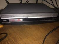 Sony DVD and VHS player (2 in 1)