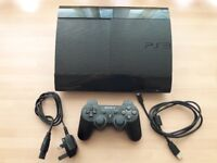 Playstation 3 - 12GB Black Console. Full working order