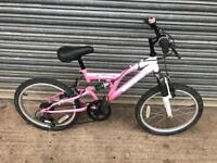 "Terrain 20"" Wheel Girls Bike. Serviced, Good Condition. Free Lock, Lights, Delivery"