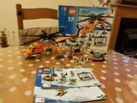 Lego City 60034 arctic heli crane
