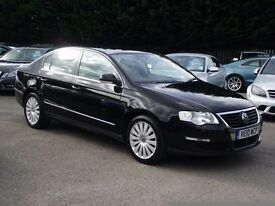 2010 VW PASSAT HIGH LINE 2.0 TDI, FULLY LEATHERS, TOP SPEC, HEATED SEATS, MOTORWAY MILEAGE
