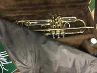 Weril brass trumpet immaculate condition rarely played retailed 0ver £600