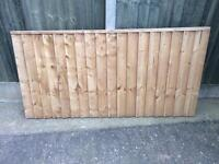 3ft x 6ft Fence Panel