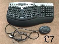 Wireless keyboard Microsoft genuine - in very good condition