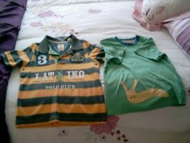 boys Joules tops