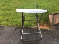 Brand New Round Heavy Duty Outdoor Trestle Party Garden Table