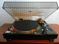 1 x Technics SL-1200 LTD Gold Limited Edition Turntable (#0008)
