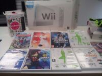 Wii-Fit Console with Selection of Games