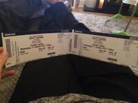 2 Ricky Gervais Humanity tickets Wednesday 11th October London £100
