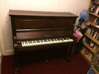 FREE Upright piano - made by C H Peake, Doncaster