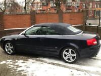 2004 Audi A4 cabriolet 1.8 T sport cabriolet cvt 2dr full service history 2 owners