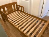 John Lewis Boris Toddler Bed and Mamas & Papas Mattress
