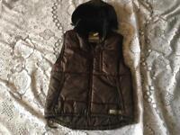 Vest bodywarm jacket brown size M used v,good condition £10