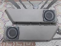 Austin Rover MG Mini Metro Grey Door Bins Pockets Fitted with Vibe Slick S40 Speakers