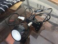 Desk table lamp used v,good working £8