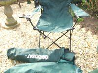 picnic chairs / garden fork/rake/ hand weights
