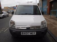 2007 FORD TRANSIT CONNECT 18TDCI T230L HI ROOF PANEL VAN YEAR MOT ELECTRIC PACK VGC