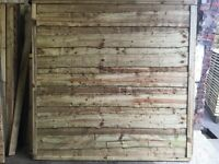 High Quality Heavy Duty Tanalised Wayneylap Wooden Fence Panels 🌲