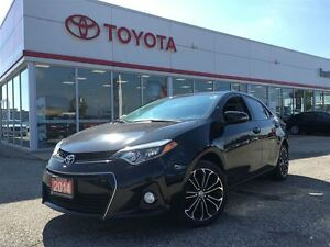 2014 Toyota Corolla S Sunroof Leather 90 Days No Payments O.A.C.