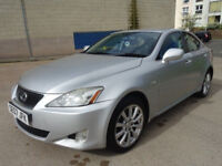 LEXUS IS 2.2 220D SE 4d 175 BHP 2 PREVIOUS KEEPERS + ALLOY WHEELS + FULL YEAR MOT + LEATHER TRIM