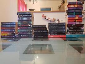 39 Paranormal Romance/Erotica Novels (See List) Good Condition