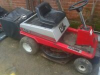 MTD LAWNLITE RIDE ON PETROL LAWNMOWER LAWN MOWER, CAN DELIVER,WORKING ORDER + GRASSBOX /NEW BLADES