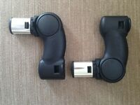 Icandy peach single to twin adaptors