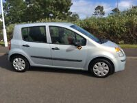 Renault Modus long MOT low mileage. Similar to Jazz Clio Fiesta Corsa Yaris Note Micra