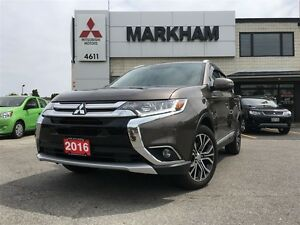 2016 Mitsubishi Outlander GT-Navigation--*Free Bicycles while qu