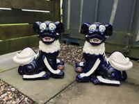 Chinese dog statues