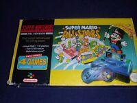 Mario All Stars Snes Console