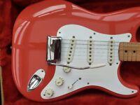 Fender Stratocaster Mint Fiesta Red 1983 A.V.R.I.' 57