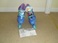 frozen girls in line skates adjustable
