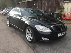 2007 MERCEDES-BENZ S320 CDI AUTO BLACK FULLY LOADED