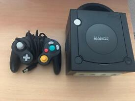 GameCube console and controller + 5 complete games
