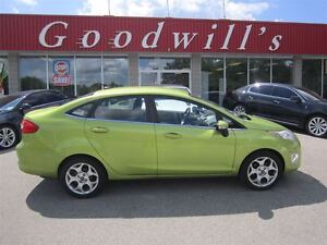 2011 Ford Fiesta SEL! HEATED LEATHER SEATS! BLUETOOTH!