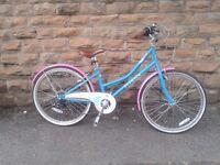 Elswick Girl's Eternity 24 Inch Heritage Bike - Warm Teal, 7-10 Years RRP £179