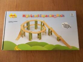 Big Jigs High Level Expansion Pack (wooden train track)