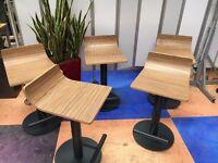 Job Lot 5 Kitchen Stools Bar Stools/Breakfast Bar Stools/Restaurant Café Stools