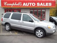 2009 Pontiac Montana SV6 LWB 7PASS QUAD SEATING!! CRUISE AIR!! P