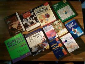 Mix of Nursing books