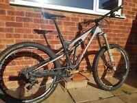 "Scott Genius LT 710 27.5"" Medium Mountain Bike Full Suspension over 1K of extras. Very special bike"