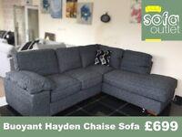 Designer Buoyant Hayden Corner Chaise Sofa £699