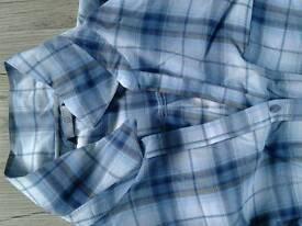 Ladies check shirt worn twice size 18 to 20