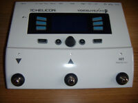 FOR SALE TC HELICON VOICELIVE PLAY GTX GUITAR AND VOICE EFFECT PEDAL