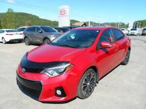 COROLLA S CUIR TOIT MAGS CAMÉRA  33000KM ONLY