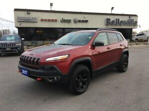 2017 Jeep Cherokee L Plus Pkg-Bluetooth-Satellite Radio-Remote S
