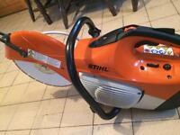 Stihl ts410 nearly brand new
