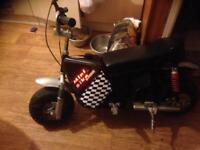 50 cc motorbike
