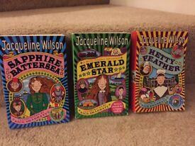 Jacqueline Wilson Books in Excellent Condition